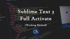 sublime text 3 free license key