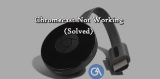 Chromecast-not-working