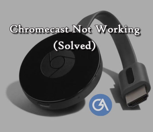 Chromecast-not-working