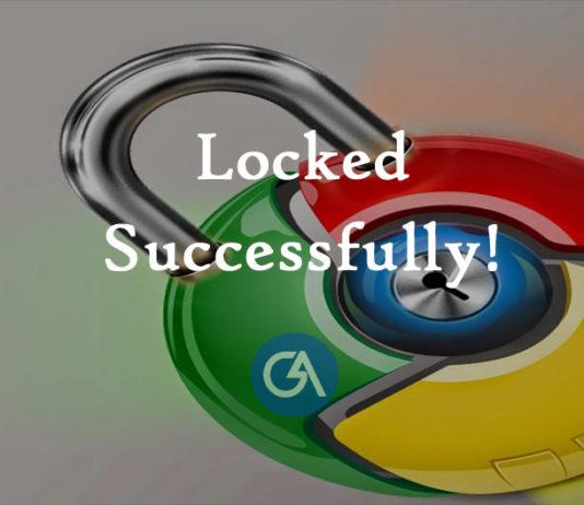 chrome-lock-password-setup