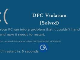 dpc-watchdog-violation-windows-10-8-7