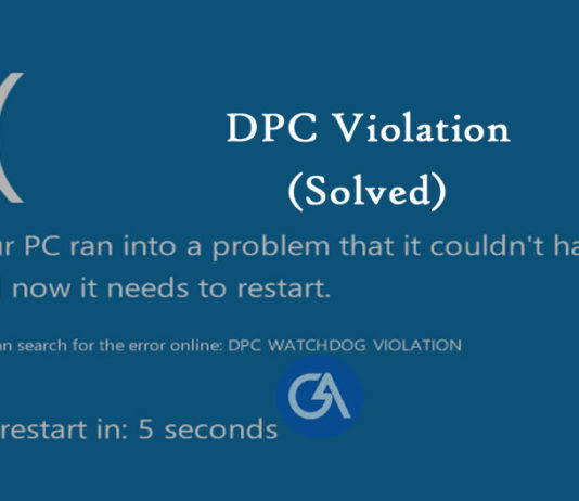 dpc-watchdog-violation-windows-10-8-7