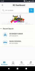 search vehicle owner name by vehicle registration number