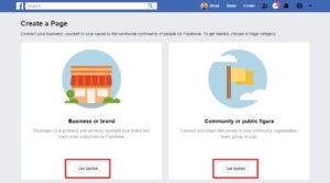 create-facebook-page-private
