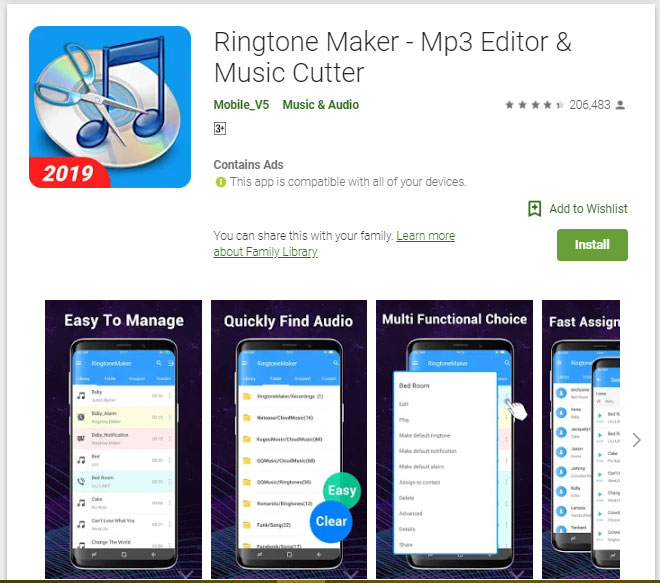 ringtone generator for android