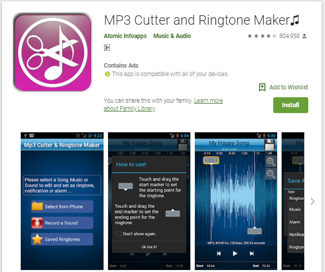 Best 5 Mp3 Ringtone Cutter Apps For Android Iphone Free